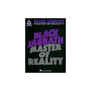 取寄 楽譜 Master of Reality | ブラック・サバス | Black Sabbath  曲集・Guitar採譜版・タブ譜|otorakuya