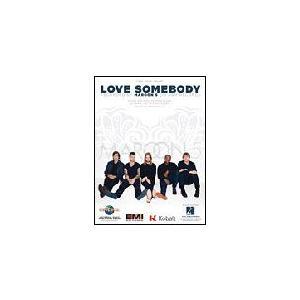 取寄 楽譜 Love Somebody   マルーン5   Maroon 5  ピース otorakuya