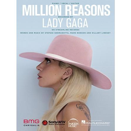 取寄 楽譜 Million Reasons | レディー・ガガ | Lady Gaga  ピース|otorakuya