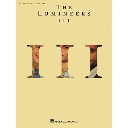 取寄 楽譜 III ザ ルミニアーズ Lumineers The 曲集 ☆国内最安値に挑戦☆ 市販