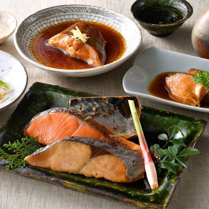 ギフト 海鮮 なだ万 公式通販 新登場 料亭の焼魚 お取り寄せ 贈り物 煮魚詰め合せ 送料無料