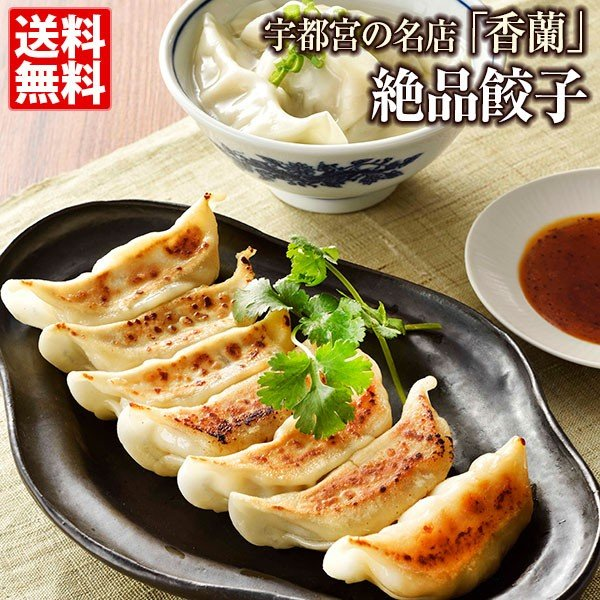 人気 ギフト 餃子 餃子専門店 香蘭 餃子48個 送料無料 宇都宮 24個×2 新商品 お取り寄せ