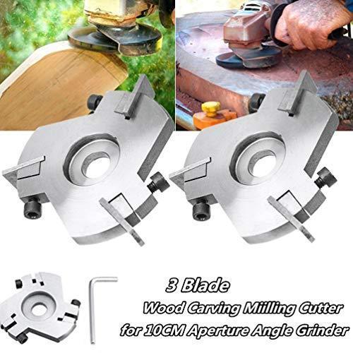 iplusmile グラインダーカッター 木彫りディスク 木工用 取り外し可能 研磨 金属加工 石材 切断 otstore 06