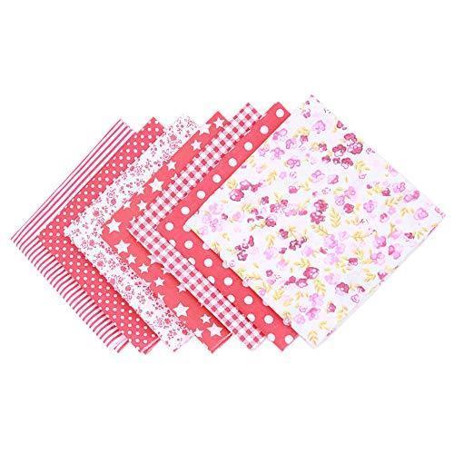 TNY パッチワーク布 カットクロス 布 生地 洗える はぎれ セット 手作り 北欧 かわいい おしゃれ 綿100% チェック ドット 子供 花柄 5|otstore|02
