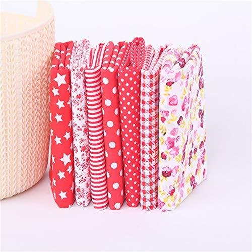TNY パッチワーク布 カットクロス 布 生地 洗える はぎれ セット 手作り 北欧 かわいい おしゃれ 綿100% チェック ドット 子供 花柄 5|otstore|06
