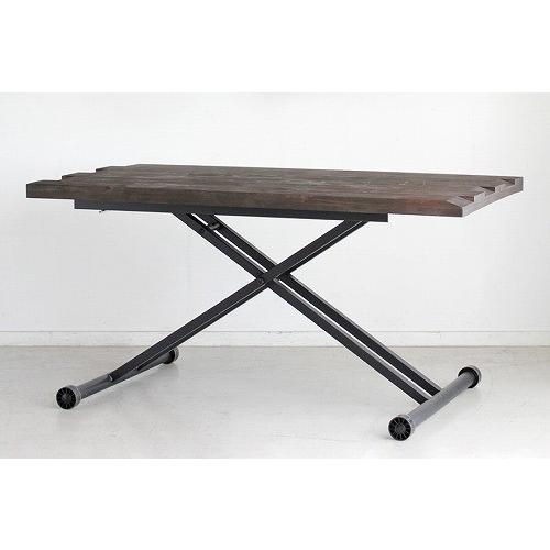 tohma tohma 古材風仕上げの天板がカフェ雰囲気を出すテーブル