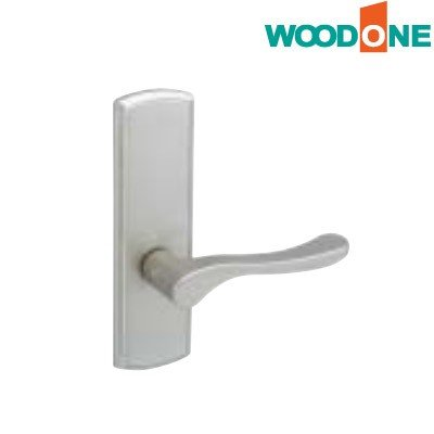 WOODONE(ウッドワン) レバーハンドル [S型シルバー・塗装/空錠] 【ZH11S1-F】 ouchioukoku