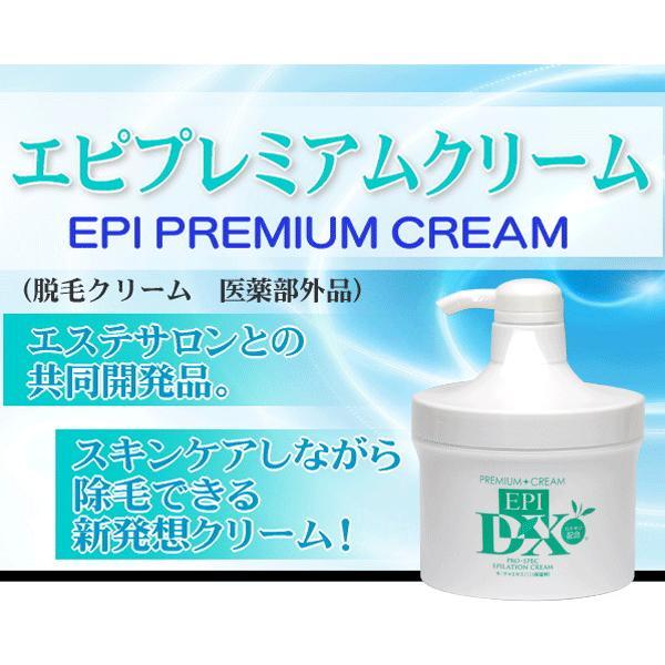 お肌に優しい除毛クリーム エピプレミアムクリームDX 大容量500g 送料無料 男女兼用 10%OFF 格安 価格でご提供いたします