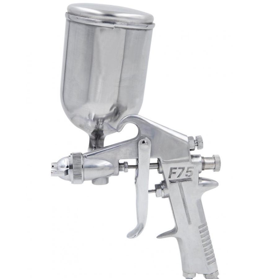 エアースプレーガン 重力式 口径1.0mm 塗装作業にお勧め 開店記念セール F-75 永遠の定番