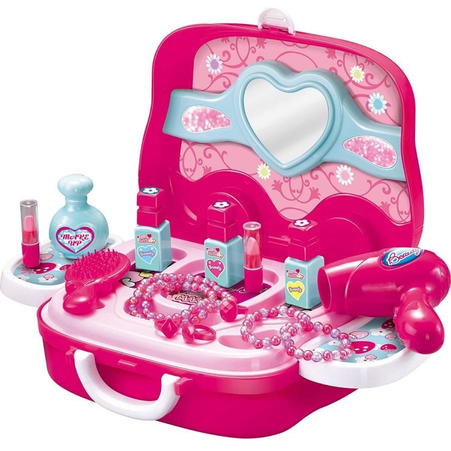子供用玩具 セール特別価格 なりきりごっこあそびセット ラブリーメイクセット お化粧 おもちゃ 送料無料 女の子 引き出物