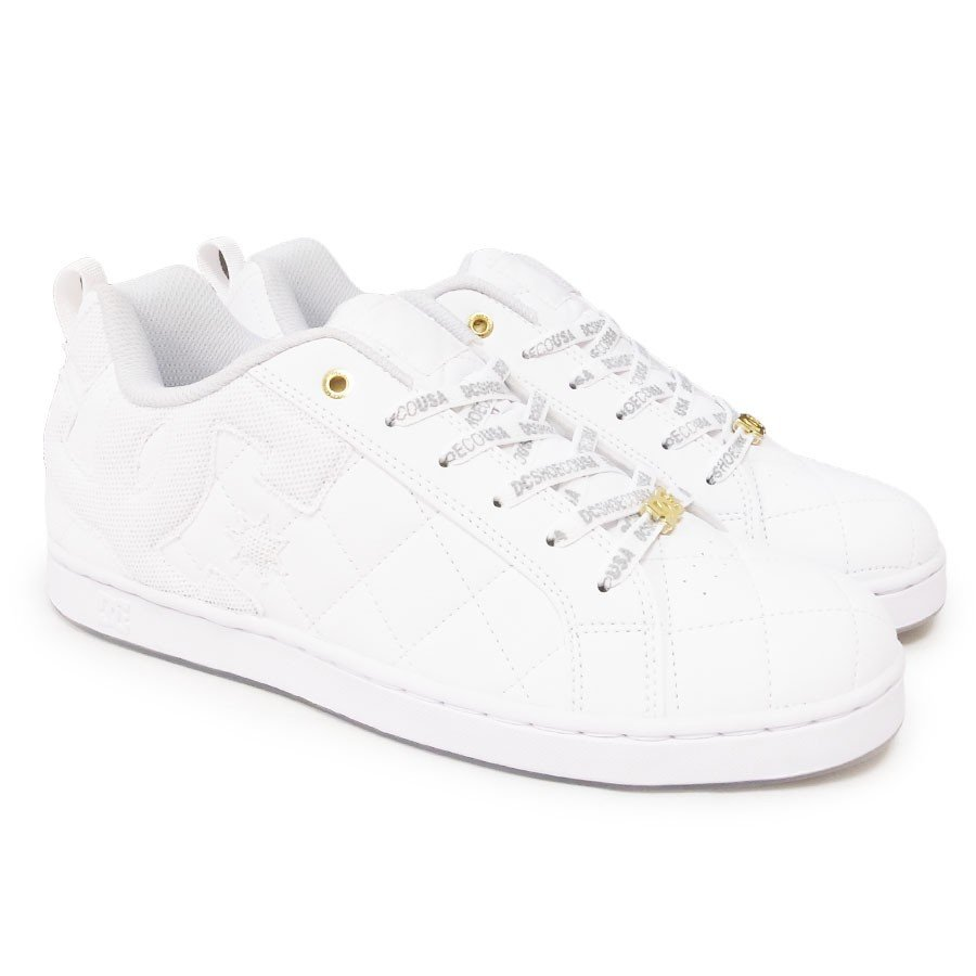 DC SHOE シューズ スニーカー スケート 靴 ALLIANCE SE SN WHT WHT ホワイト 白|our-s