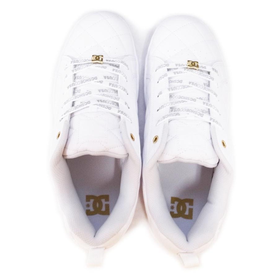 DC SHOE シューズ スニーカー スケート 靴 ALLIANCE SE SN WHT WHT ホワイト 白|our-s|03