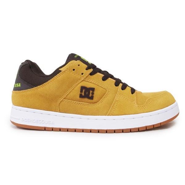 DC SHOE シューズ スニーカー スケート 靴 MANTECA BROWN ブラウン 茶色|our-s|02