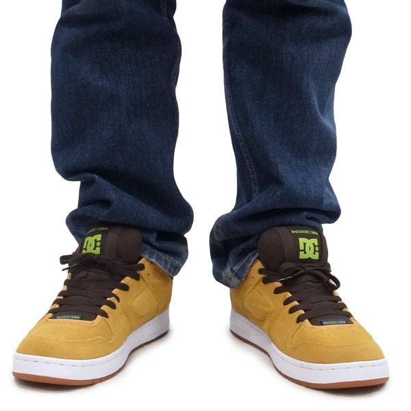 DC SHOE シューズ スニーカー スケート 靴 MANTECA BROWN ブラウン 茶色|our-s|06