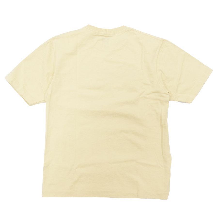 BANKS バンクス メンズ レディース ユニセックス 半袖Tシャツ カットソー オーガニックコットン ZAK BUSH FOLWERS イエロー 黄色|our-s|03