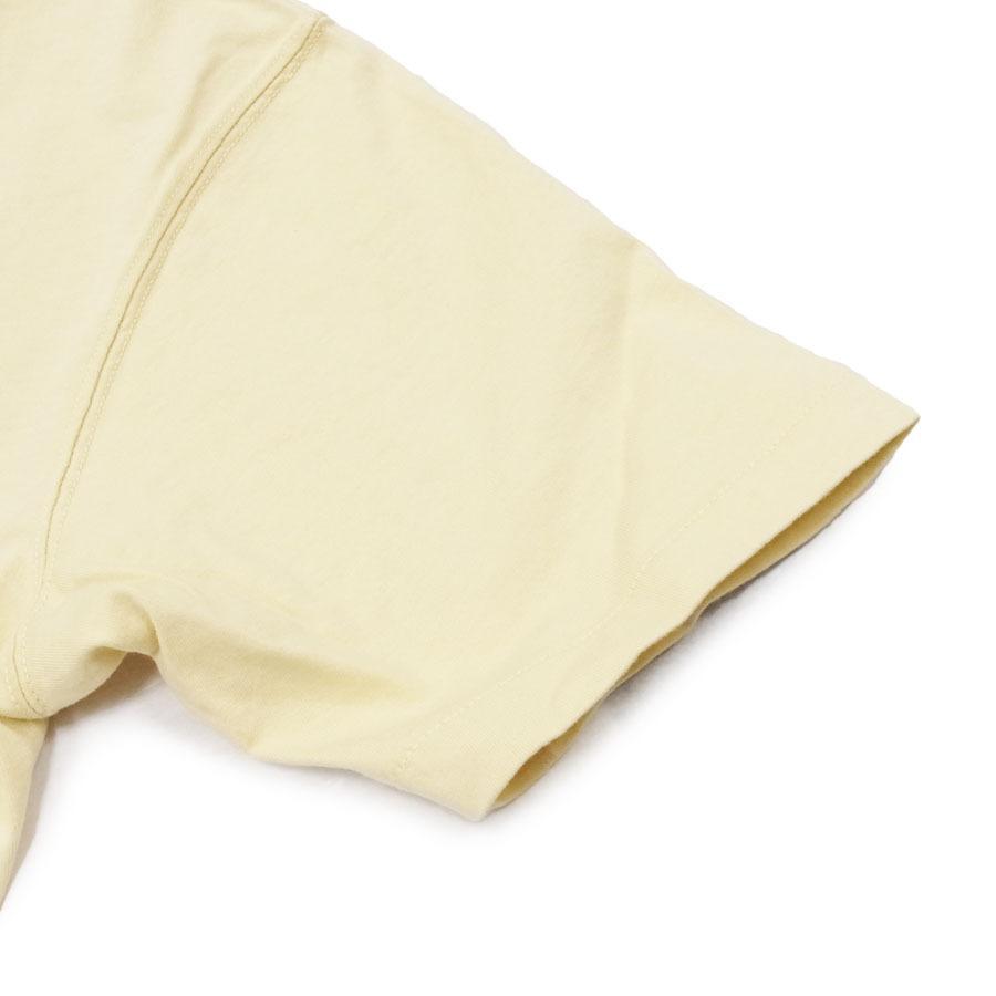 BANKS バンクス メンズ レディース ユニセックス 半袖Tシャツ カットソー オーガニックコットン ZAK BUSH FOLWERS イエロー 黄色|our-s|05