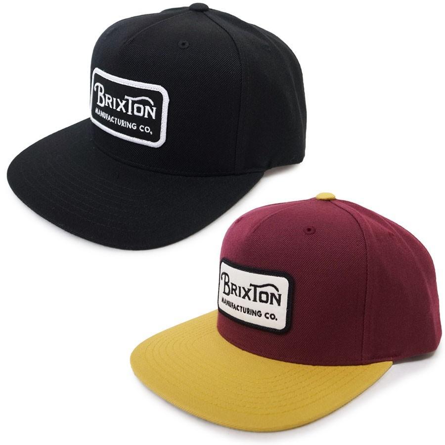 BRIXTON ブリクストン キャップ 帽子 GRADE SNAPBACK 2色|our-s