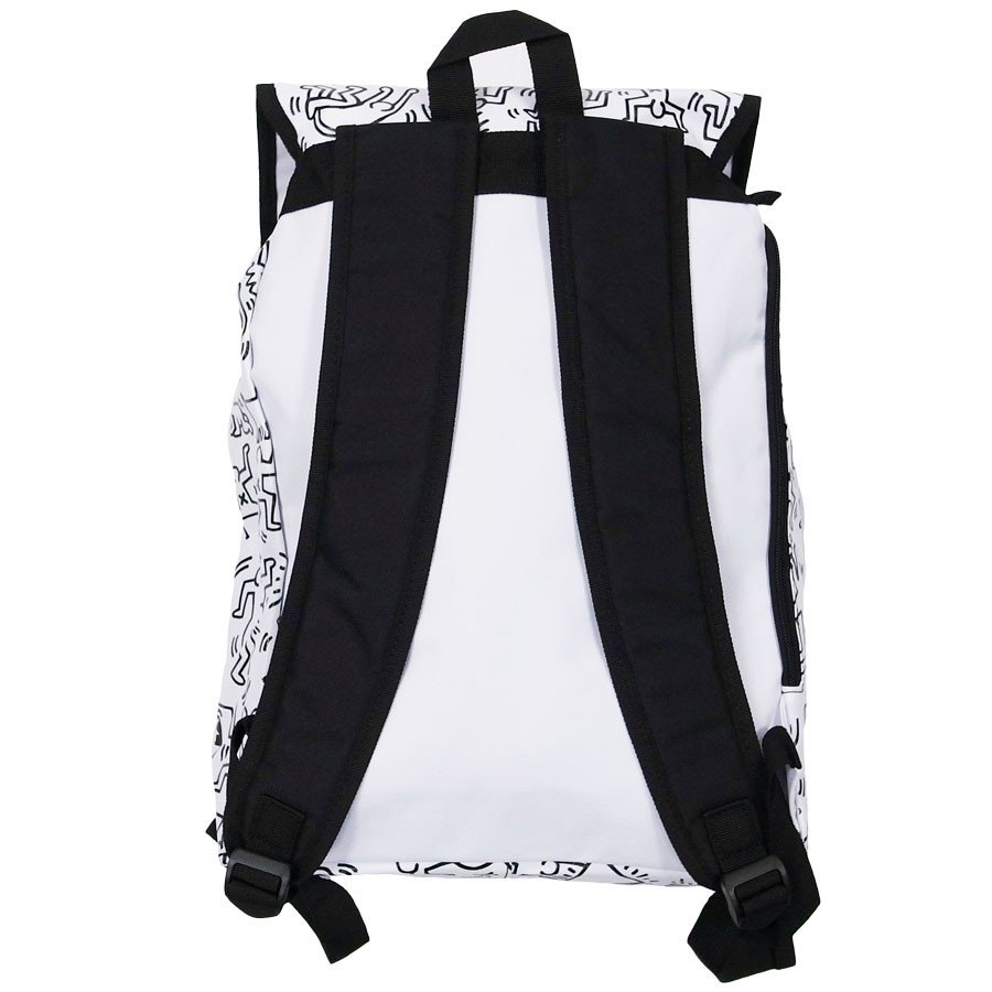 KEITH HARING キースヘリング バックパック リュックサック デイパック MULTI PATTERN BACKPACK WHITE ホワイト 白|our-s|02