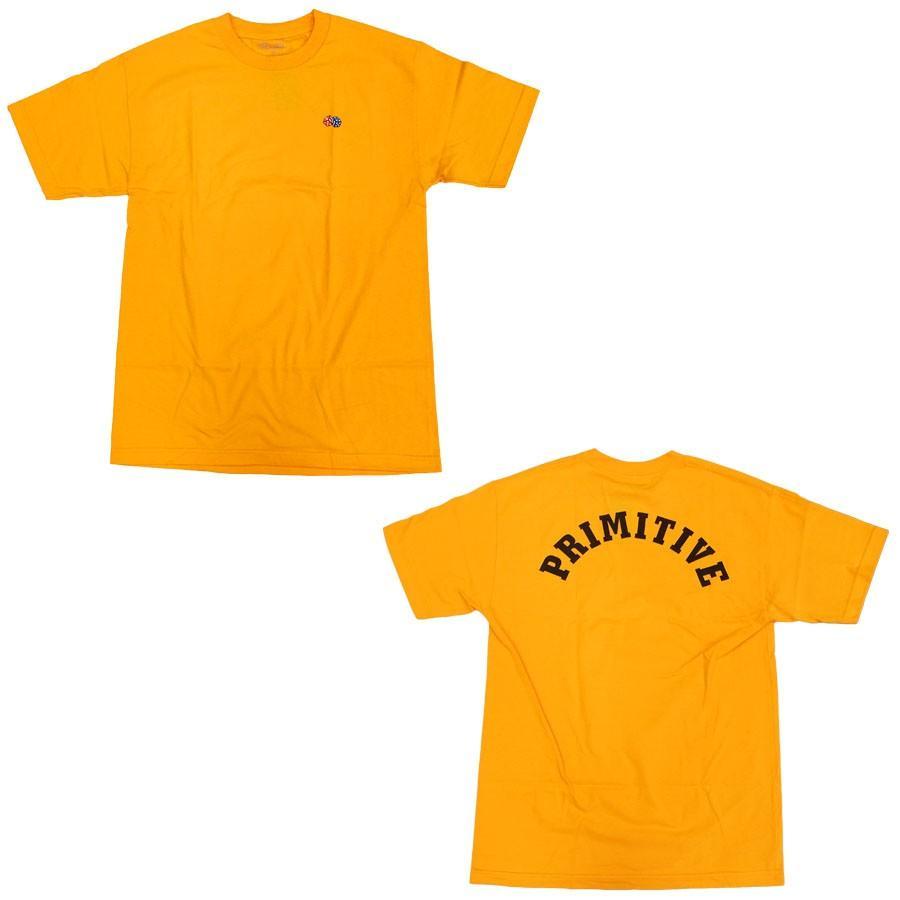 PRIMITIVE プリミティブ IVY LEAGUE TEE 3色 半袖Tシャツ カットソー 黒 ブラック ホワイト 白 イエロー our-s 02