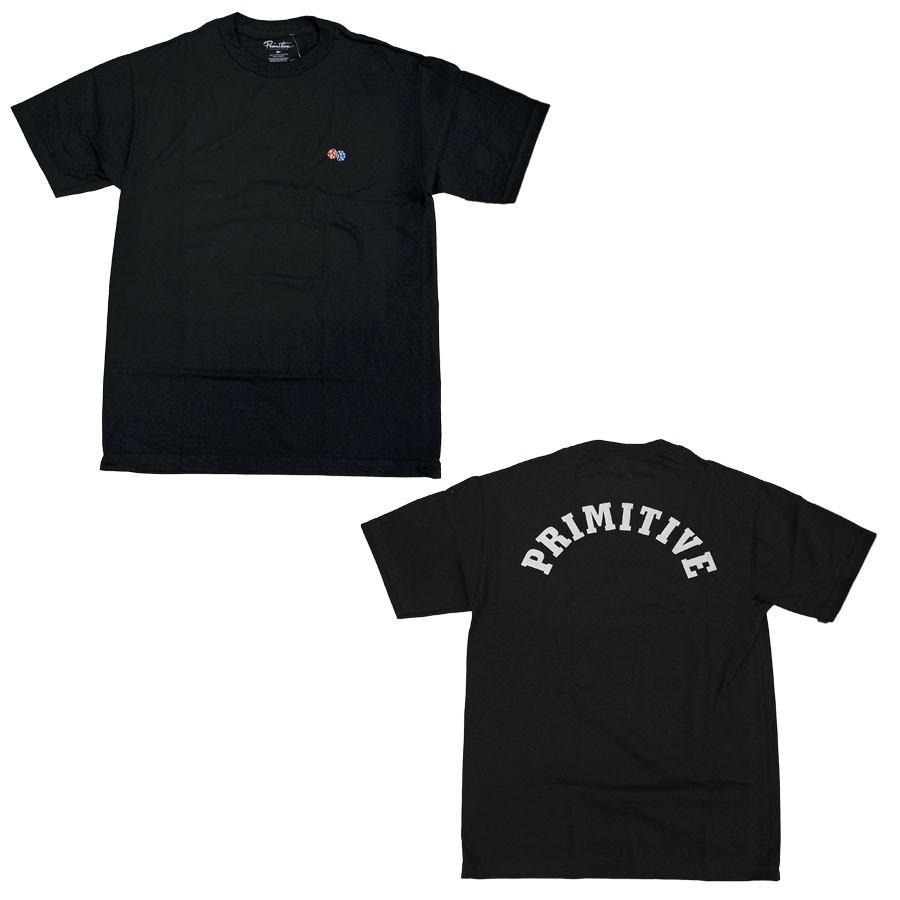 PRIMITIVE プリミティブ IVY LEAGUE TEE 3色 半袖Tシャツ カットソー 黒 ブラック ホワイト 白 イエロー our-s 03
