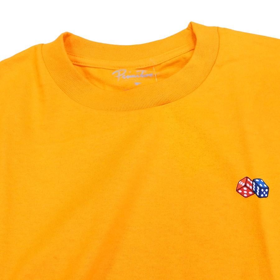 PRIMITIVE プリミティブ IVY LEAGUE TEE 3色 半袖Tシャツ カットソー 黒 ブラック ホワイト 白 イエロー our-s 05