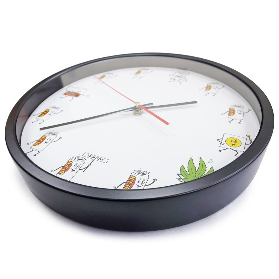 PRIMITIVE プリミティブ PARTY TRAIN WALL CLOCK 時計 掛け時計 壁掛け our-s 03