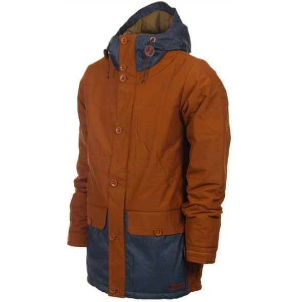 BURTON バートン 2015 Nomad Snowboard Jacket/メンズ/スノボーウエア 2015 Men's/True Penny / Indigo Denim