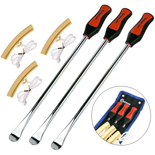 発売モデル 365mm ロング仕様タイヤレバー3本とリムプロテクター3本 ODGT1-T022 オリジナル専用収納ポーチ付き 特価