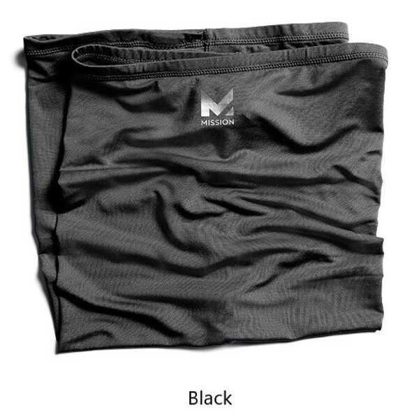 マルチクールネックゲイター [カラー:ブラック] [サイズ:25×53cm] #108008
