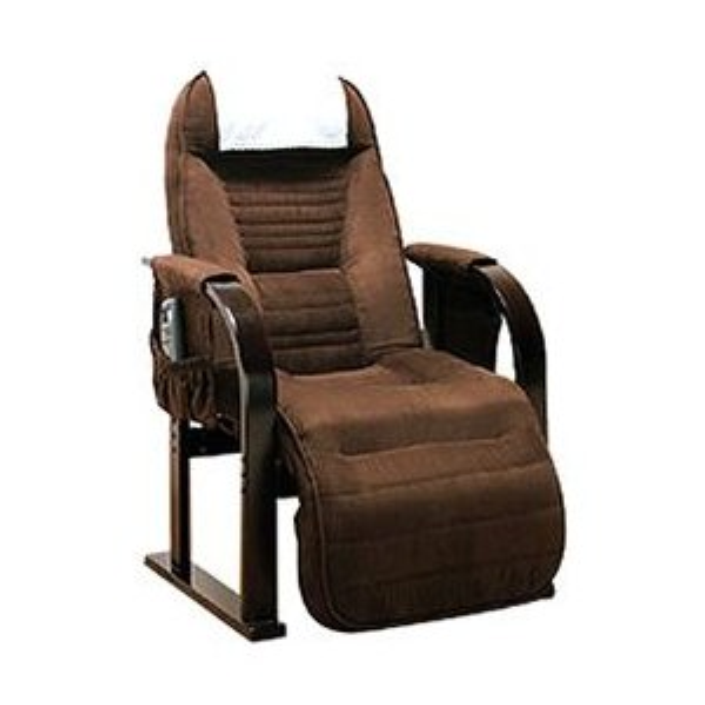 リクライニングチェア 肘付き 高座椅子 低反発 リクライニング高座椅子 低反発高座椅子 天然木
