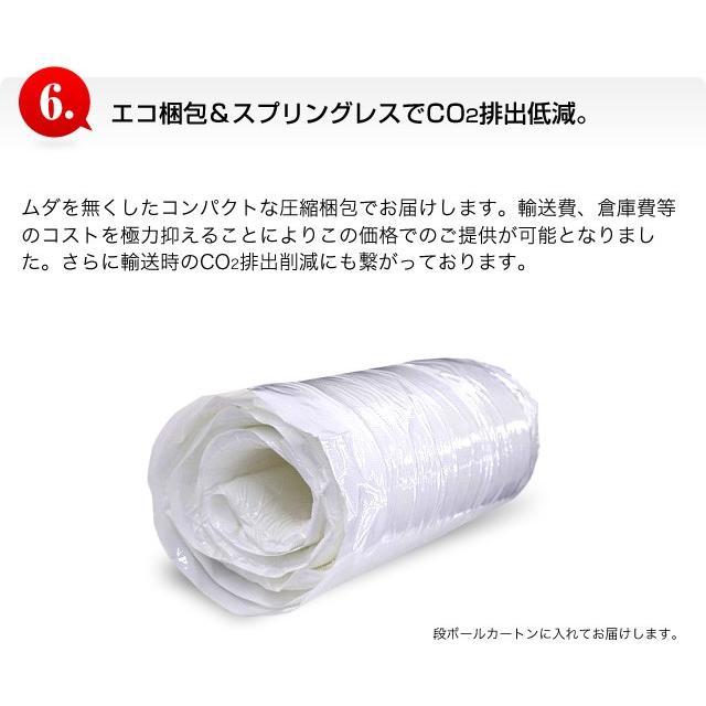 日本製 マットレス 低反発 低反発マット プレミアム 低反発マットレス シングル 代金引換不可|outlet-f|09