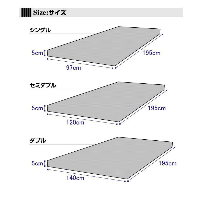日本製 マットレス 低反発 低反発マット プレミアム 低反発マットレス シングル 代金引換不可|outlet-f|10