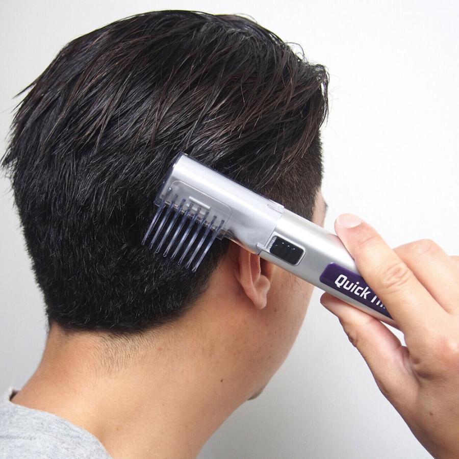 定番の人気シリーズPOINT ポイント 入荷 コードレス式クイックトリマー散髪セット 散髪マント付き 格安店