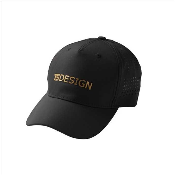 日本全国 送料無料 TS DESIGN TSデザイン 世界の人気ブランド TSメッシュキャップ ブラックxゴールド 2002 ユニフォーム 作業服 84921