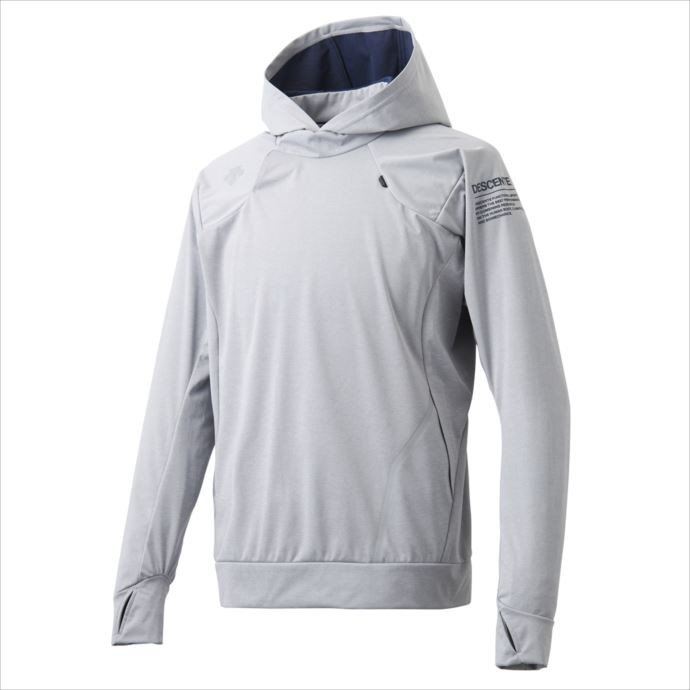 DESCENTE (デサント) スチームスーツ ジャケット グレー杢 DMMMJF32 1810 メンズ