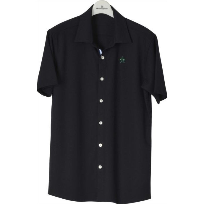 半袖シャツ Munsingwear (マンシングウェア) メンズ 半袖シャツ ネイビー MGMLGA20 1904 ゴルフウェア