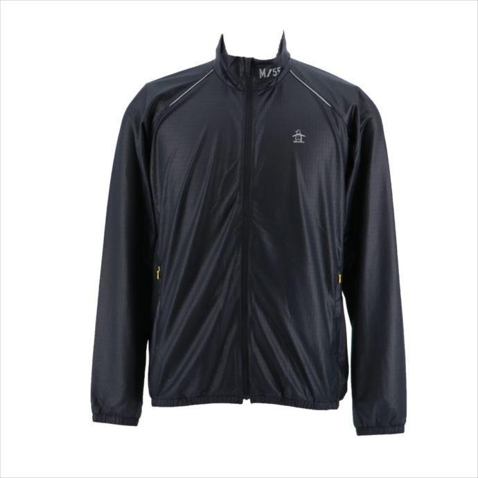 《送料無料》ブルゾン Munsingwear (マンシングウェア) メンズ ブルゾン ブラック MGMMJK01 1908 ゴルフ
