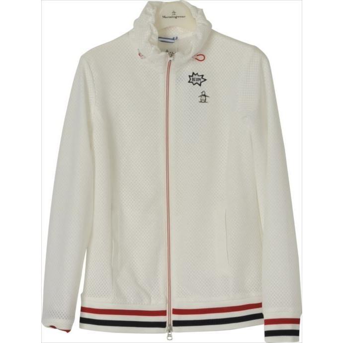 ブルゾン Munsingwear (マンシングウェア) レディス MGWLJK02 ホワイト 1904 ゴルフウェア レディース