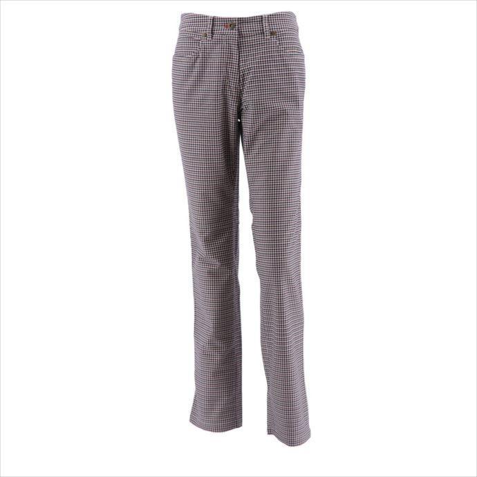 《送料無料》Munsingwear (マンシングウェア) レディス ガンクラブ柄微起毛パンツ Bブラウン MGWMJD09 1908 ゴルフ パンツ