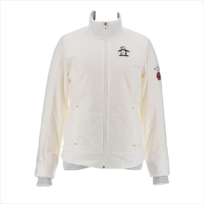 《送料無料》unsingwear (マンシングウェア) レディス 3DeFX+ストレッチブルゾン ホワイト MGWMJK05 1908 ゴルフ ブルゾン