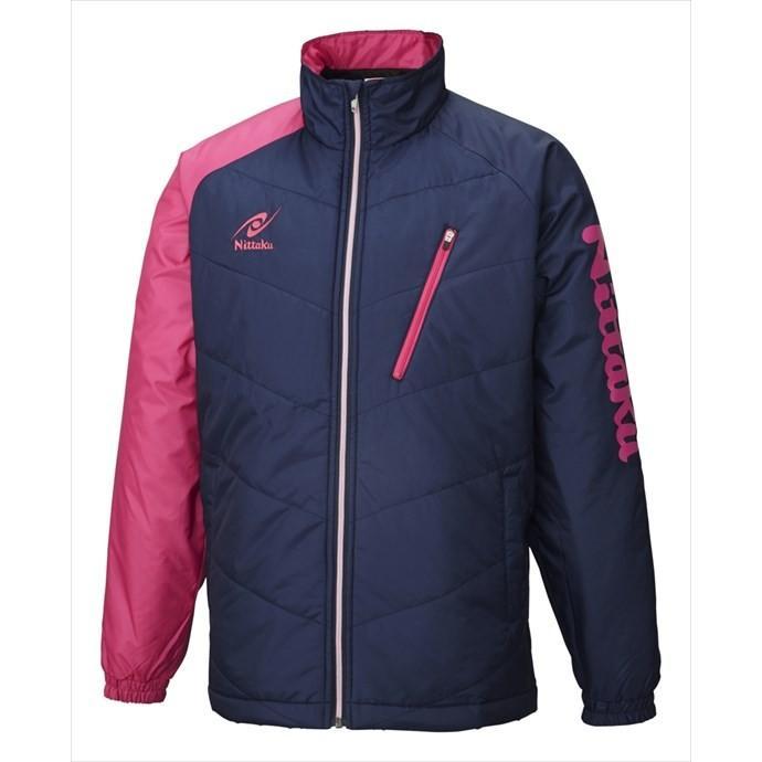 Nittaku (ニッタク) 日本卓球 ホットウォーマーANVシャツ ピンク NW-2850 1801 メンズ 紳士 男性