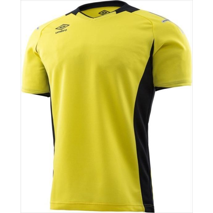 umbro (アンブロ) ゴールキーパーシャツ ショートスリーブ YEL UAS6708G 1802 メンズ 紳士 男性