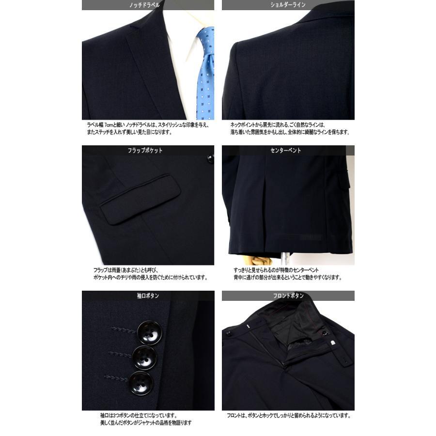 スーツ 2パンツスーツ 春夏メンズスーツ WOOL混生地 ご家庭で洗濯可能 サマースーツ スリムモデル 2ツボタンスーツ ビジネススーツ outlet-suit 05