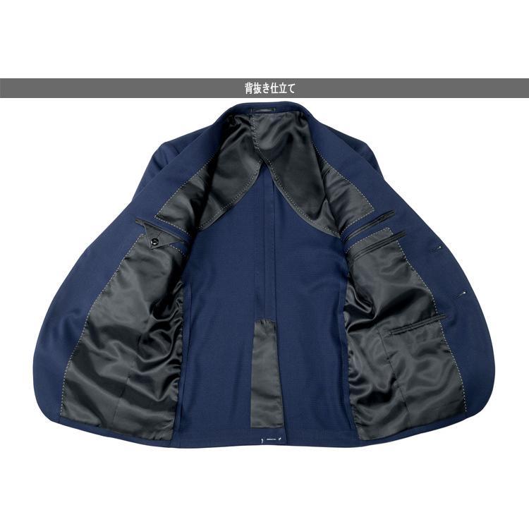 スーツ メンズスーツ オールシーズンスーツ スリムスタイル ストレッチ素材 ご家庭で洗濯可能なスラックス 2ツボタンスーツ ビジネススーツ 春夏 秋冬|outlet-suit|08