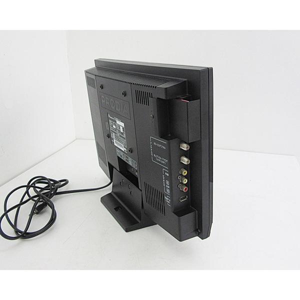 【中古】 PRODIA プロディア ピクセラ 液晶テレビ ブラック 16型 16インチ BS/CS 地デジ PRD-LB116B j1757 tv-149|outletconveni|06