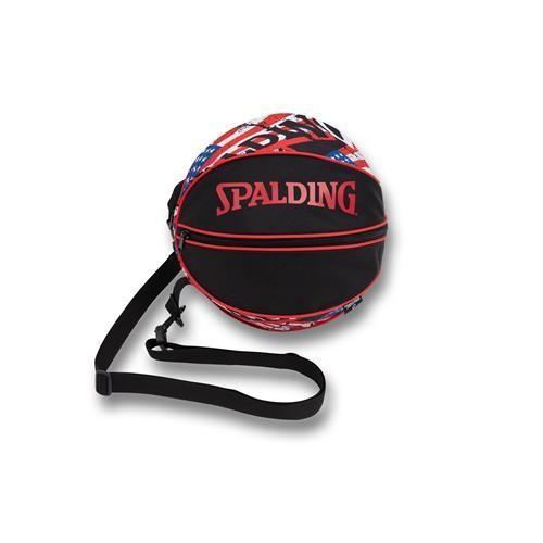 新品 在庫あり 期間限定 安全 バスケットボールが1個収納可能な ボールバッグ ストライプス スターズ 49-001SS