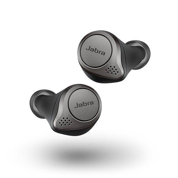 【新品/在庫あり】Jabra Elite 75t Bluetooth 完全ワイヤレス コードレス イヤホン ブラック ジャブラ Titanium Bl outletplaza