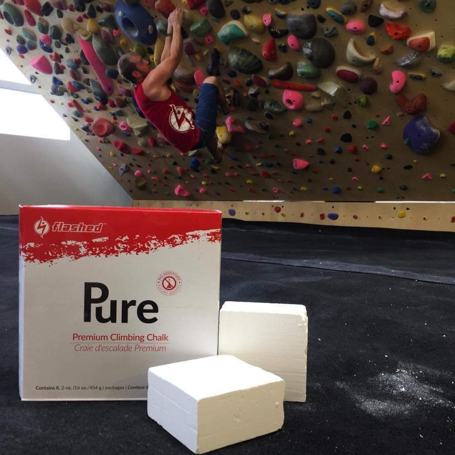 flashed フラッシュト プレミアムブロックチョーク 8ブロックス(8個入り) Premium Climbing Chalk クライミング用固形チョーク ボルダリング 手汗 滑り止め|outspot|04