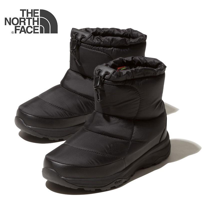 THE NORTH FACE ザ・ノースフェイス ヌプシブーティーウォータープルーフ VIショート NF51874 (K)TNFブラック ユニセックス 防寒ブーツ スノーブーツ
