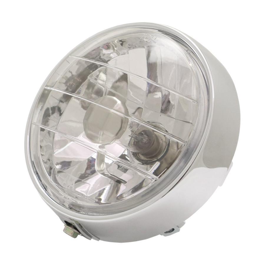 超激得SALE 5☆大好評 スーパーカブ デラックス スタンダード系 リトルカブ用 マルチリフレクターヘッドライト クリアタイプ